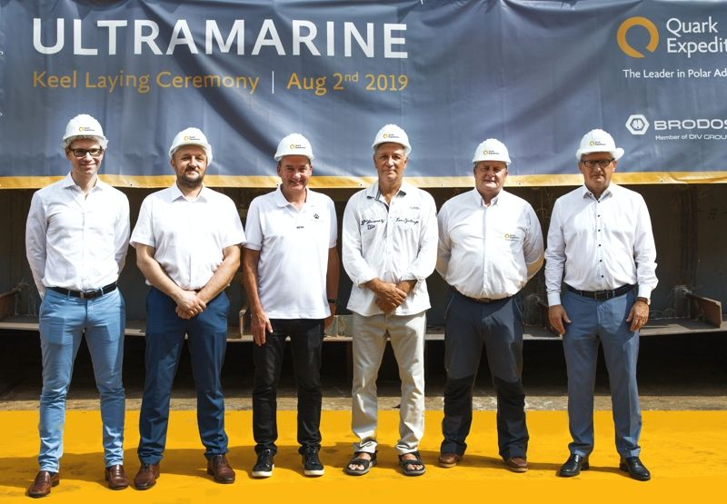 Ultramarine - Keel Laying