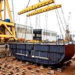 Ryndam Keel Laying - 1