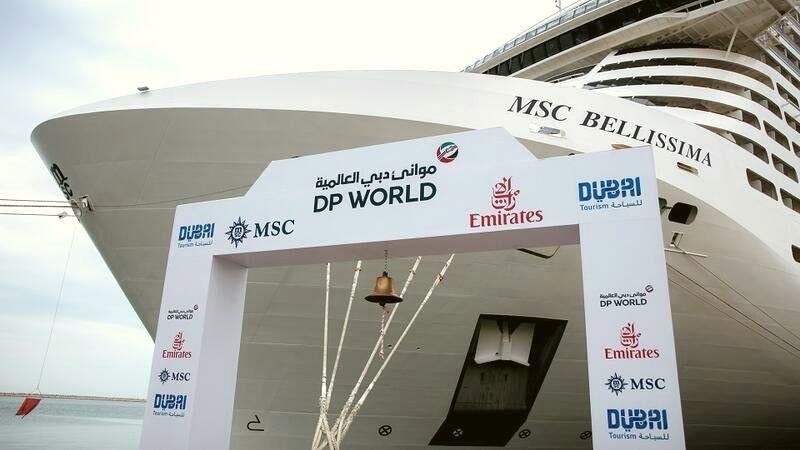 Dubai - Puerto Rashid- MSC Bellissima