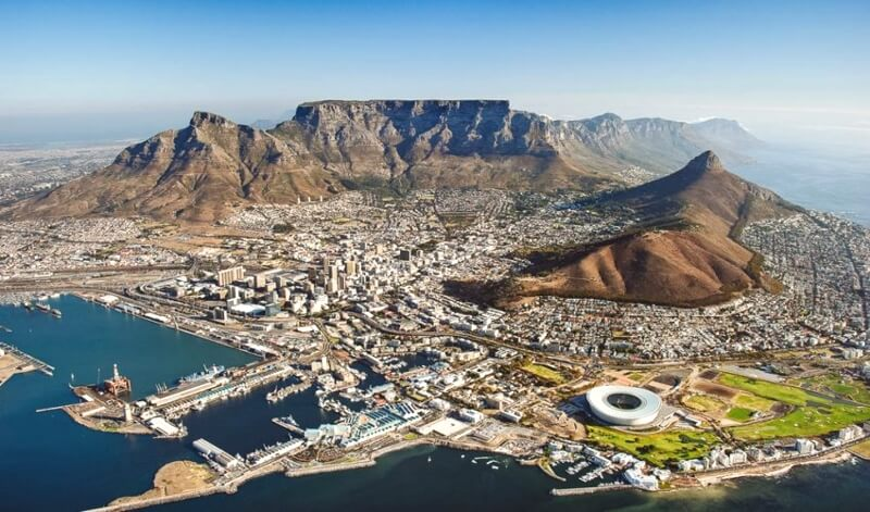 África - Ciudad del Cabo