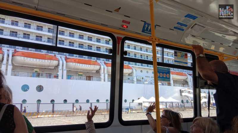 MSC Musica desde el bus