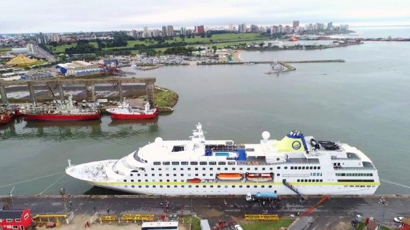 MS Hamburg - Mar del Plata- 2