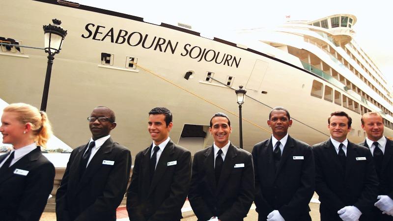 Tripulantes - 3-  Seabourn