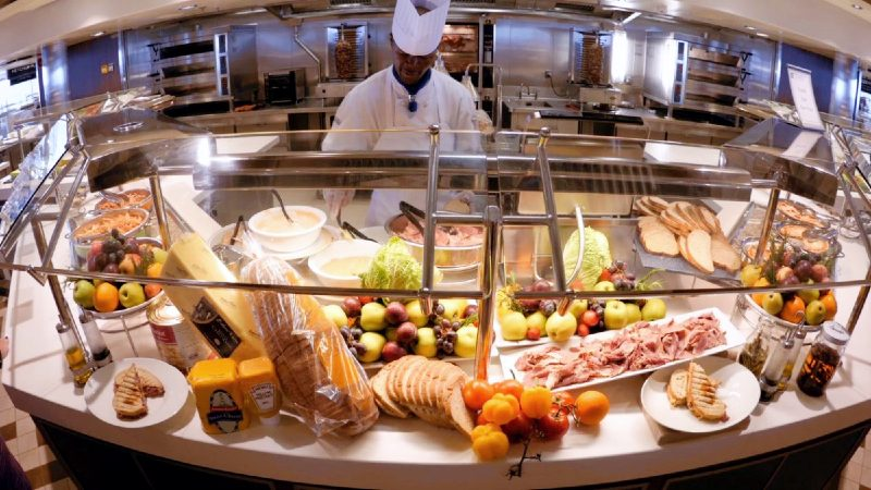 Buffet - Windjammer - Royal Caribbean - 2
