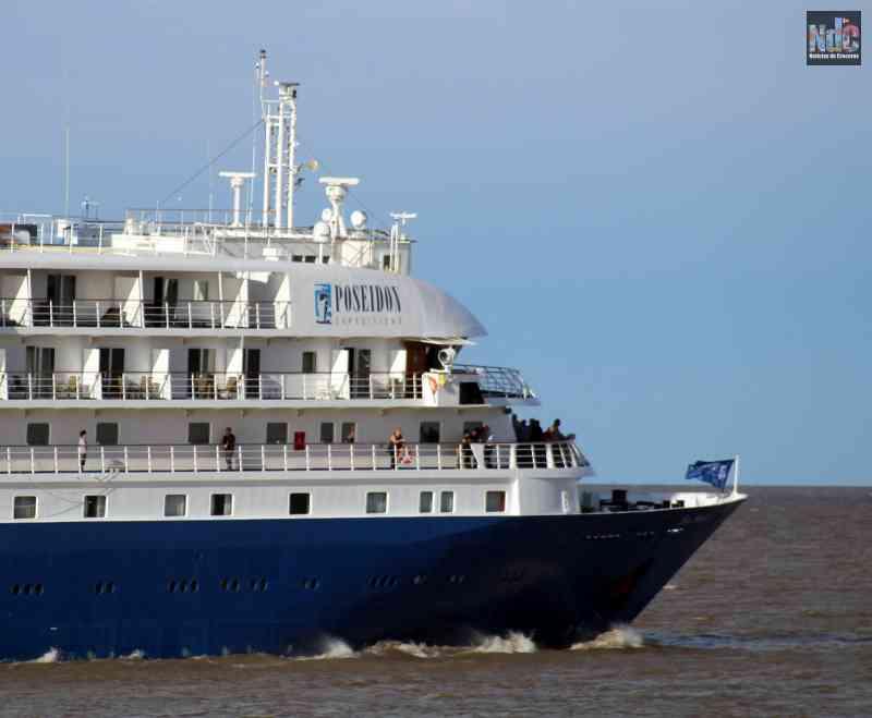 El Sea Spirit uno de los octillizos de la ex Rennaisance Cruises que podría realizar cruceros regionales
