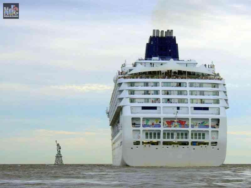 Los cruceristas estadounidenses no podrían entrar a Europa