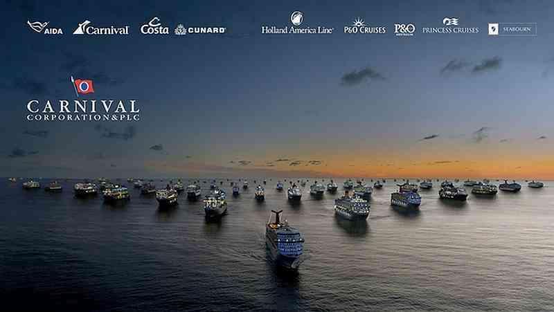 Flota de la Carnival Corp.