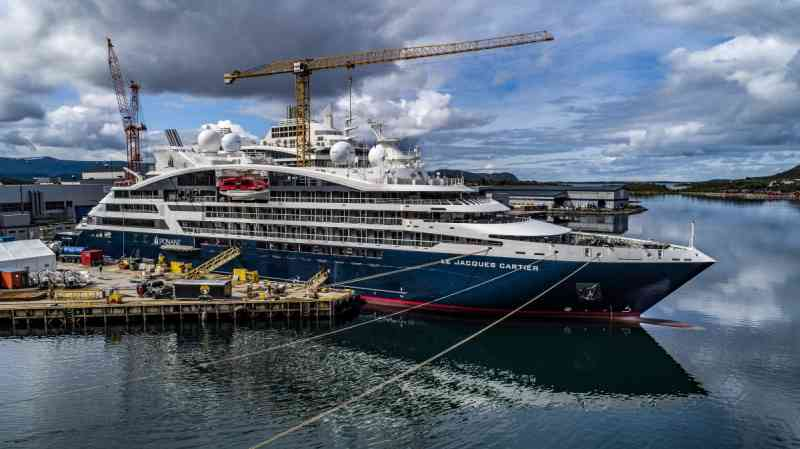 Vard-shipyard-handed-over-Le-Jacques-Cartier-sixth-ship-in-the-Explorer-series-completed-in-just-over-two-years-Photo-Fred-MichelPonant
