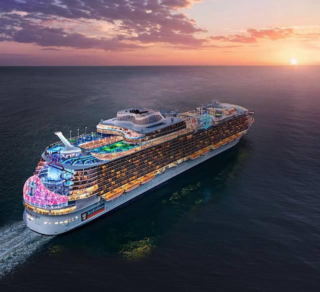 """El """"Wonder of the Seas"""" prueba aguas francesas ⋆ Noticias de Cruceros"""